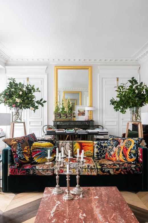 Salon Appartement Paris Designer Alexis Mabille