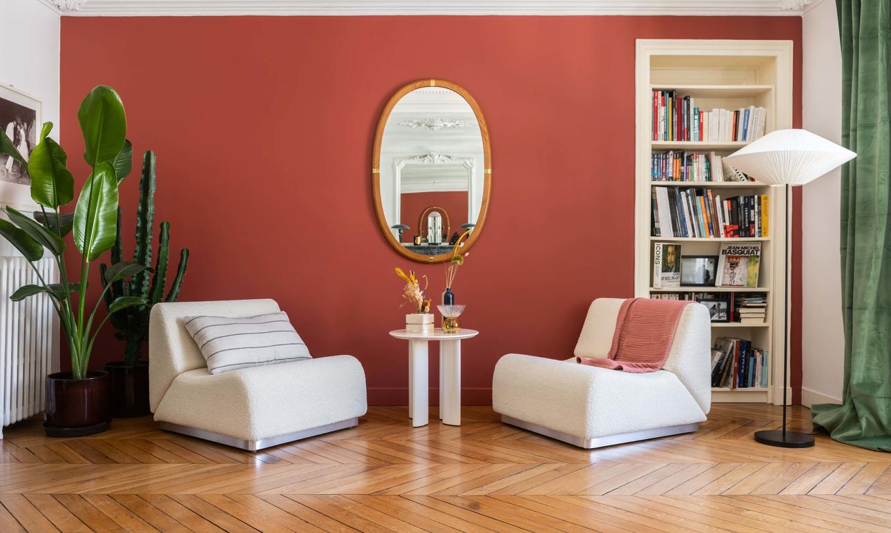 Comment appliquer notre palette <br>de peintures mates chez vous ?