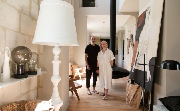 Karine Pelloquin et Frédéric Aguiard