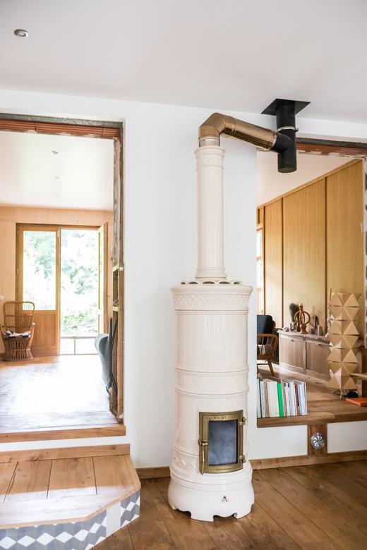 Salon Maison en bois Barbizon Charlotte Huguet et Emiliano Schmidt-Fiori