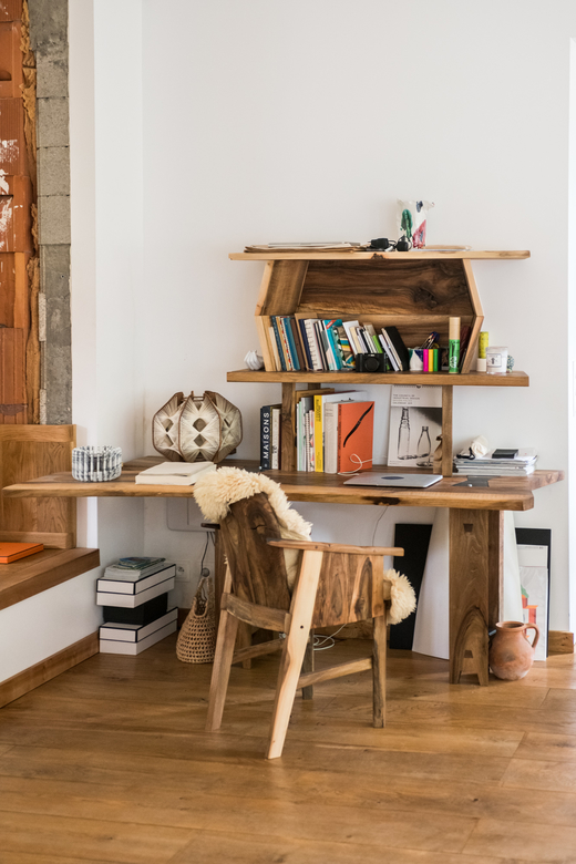 Maison en bois Bureau Barbizon Charlotte Huguet et Emiliano Schmidt-Fiori