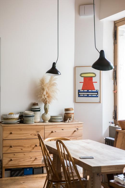 Salle à manger Maison en bois Barbizon Charlotte Huguet et Emiliano Schmidt-Fiori