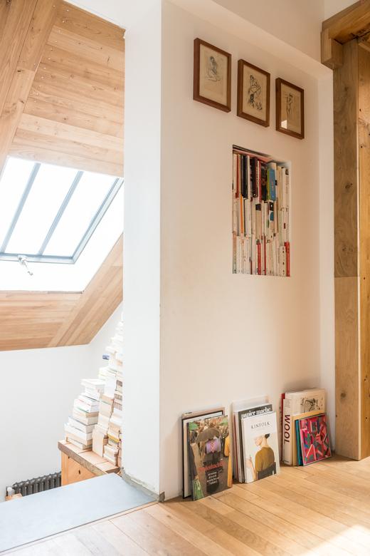 Maison en bois Etage Barbizon Charlotte Huguet et Emiliano Schmidt-Fiori