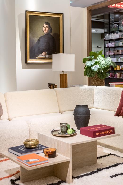 Salon Appartement Canapé Rotondo Home Good Home The Socialite Family BHV MARAIS
