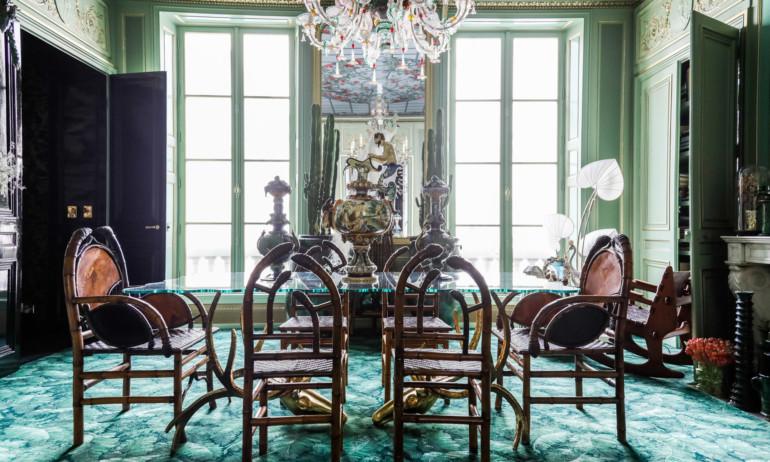 Corrado de Biase Appartement Paris Salle à manger