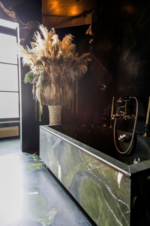 Corrado de Biase Appartement Paris Salle de bain