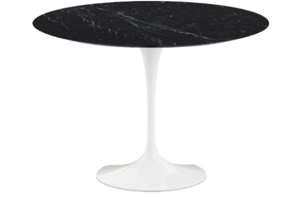 Table Eero Saarinen marbre Noir Marquina