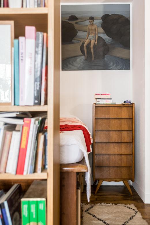 Chambre parentale Appartement Paris Arnold d'Alger et Bruno Della Mattia