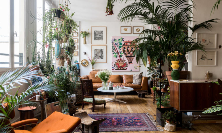 Salon Appartement Paris Arnold d'Alger et Bruno Della Mattia