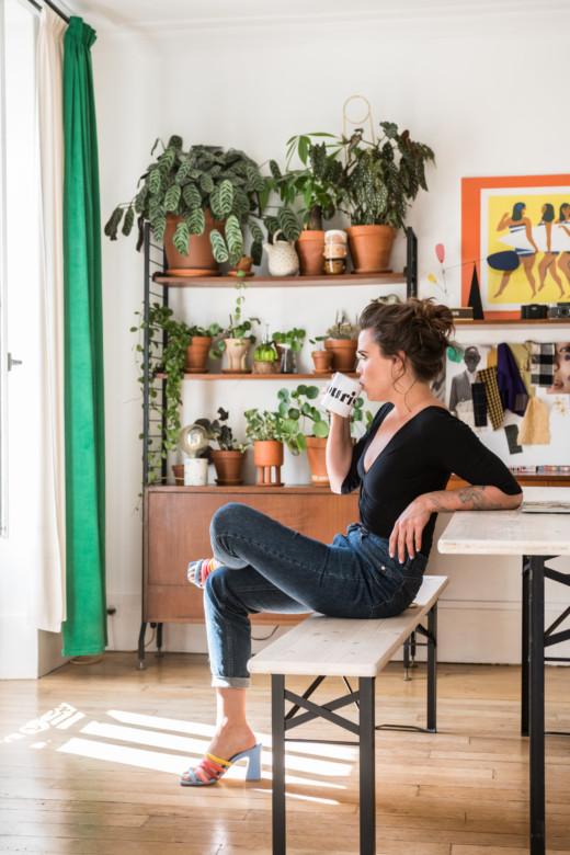 Salon Appartement Paris Portrait Lisa Gachet Fondatrice Make My Lemonade