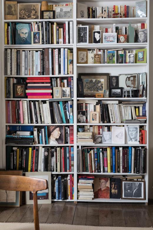 Bibliothèque Appartement Paris Michel Vivien