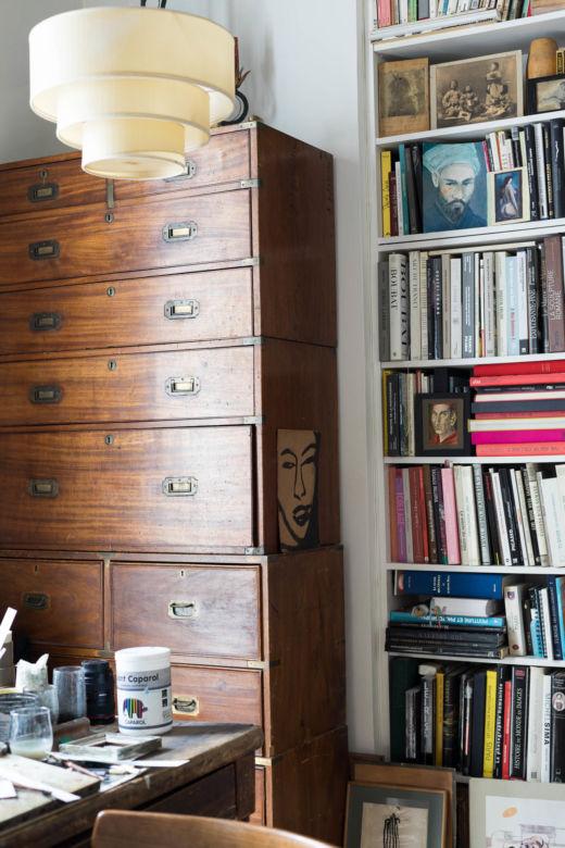 Bureau Appartement Paris Michel Vivien