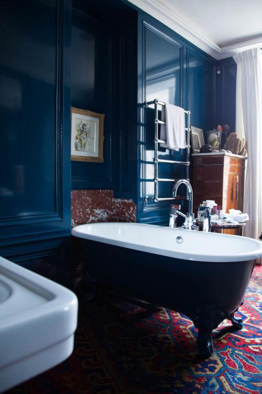 Salle de bain Appartement Paris Propriétaire Casa Lopez Pierre Sauvage