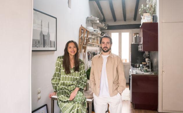 Shirley Garrier et Mathieu Zouhairi