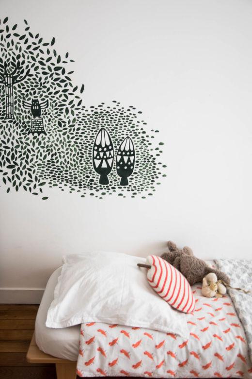 Chambre enfant Appartement Paris Emane de Malleray et Vincent Viard
