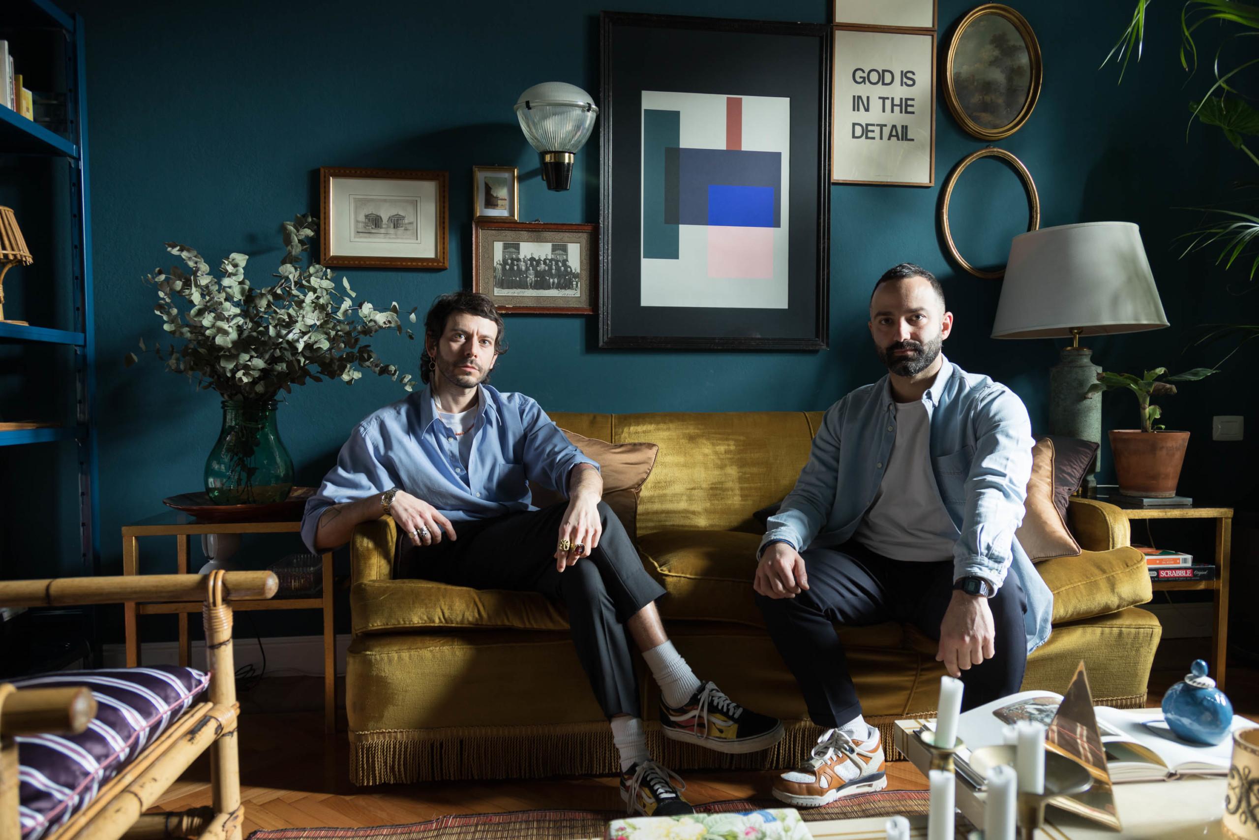 Giuseppe Porcelli et Mario Abruzzese