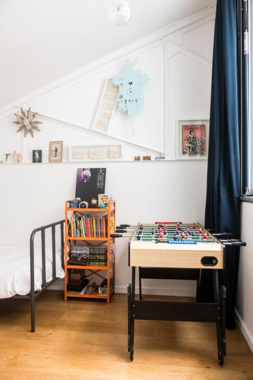 Chambre enfants Paris Jérémie et Alexia du Chaffaut Créateur Midi Éditions