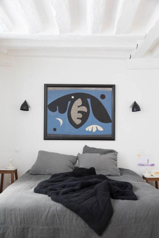 Chambre Appartement Paris Marais Fanny et David Millet