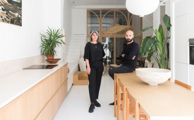 Morgane Urbain and Emmanuel Cruellas