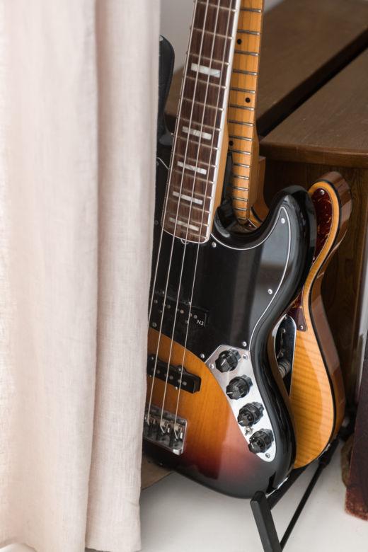 Guitare chez Morgane Urbain et Emmanuel Cruellas au Pré-Saint-Gervais