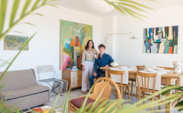 Sarah Espeute and Lucas Marin-Matholaz