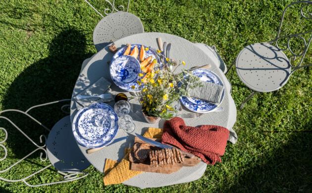 Six idées pour dresser <br>une belle table d'été