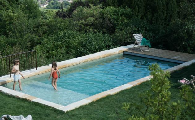 Les plus belles piscines vues <br>chez The Socialite Family
