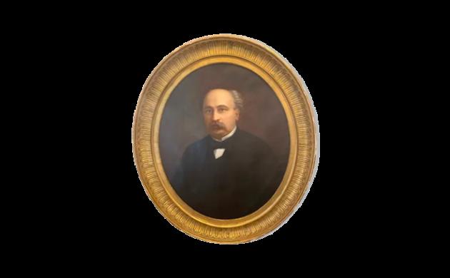 Ancient portrait painting